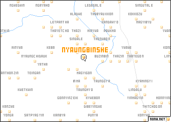 map of Nyaungbinshe