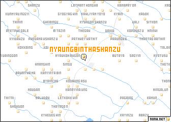 map of Nyaungbintha Shanzu