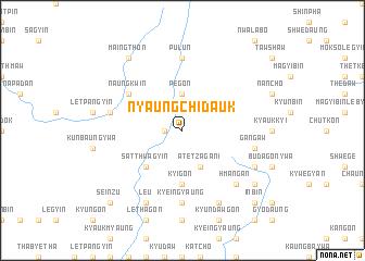 map of Nyaungchidauk