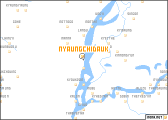 map of Nyaungchidauk