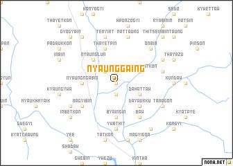 map of Nyaunggaing