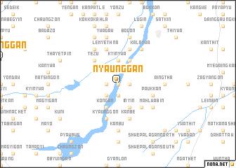 map of Nyaunggan