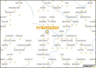 map of Nyaunggauk