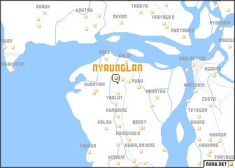 map of Nyaunglan