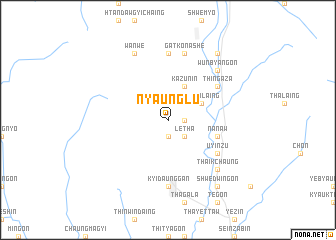 map of Nyaunglu