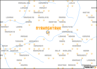 map of Nyawnghtawk