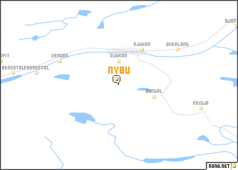 map of Nybu