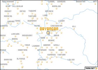 map of Oayangan