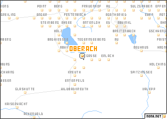 map of Oberach
