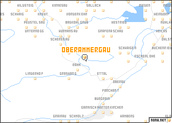 Oberammergau Germany Map.Oberammergau Germany Map Nona Net