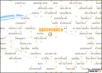 map of Oberasbach