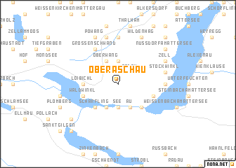 map of Oberaschau