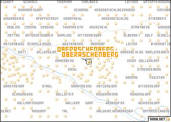 map of Oberaschenberg