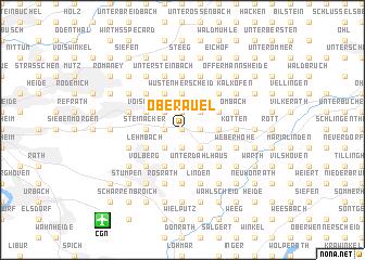 map of Oberauel