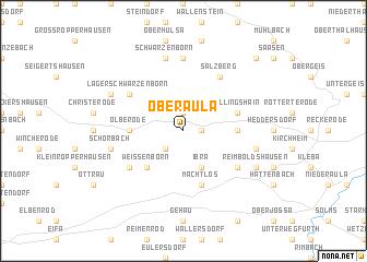 map of Oberaula