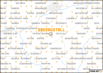 map of Oberaustall