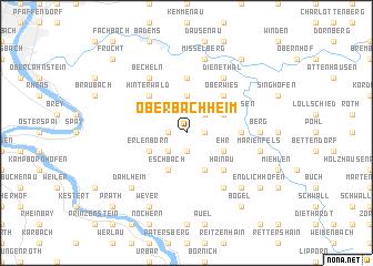 map of Oberbachheim