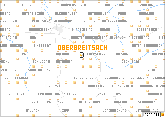 map of Oberbreitsach