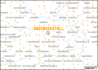 map of Oberburgstall