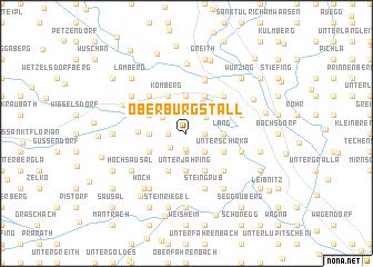 map of Oberburgstall
