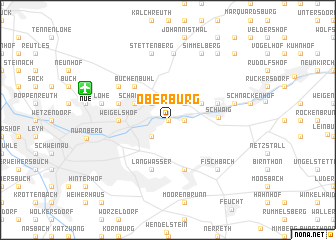 map of Oberbürg