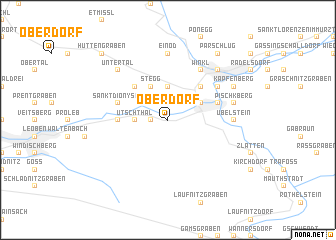 map of Oberdorf