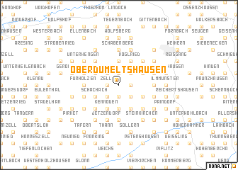 map of Oberdumeltshausen
