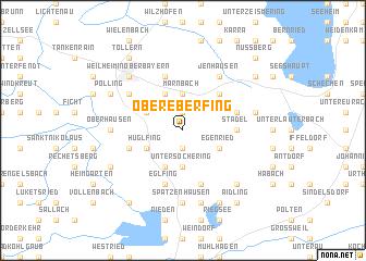 map of Obereberfing