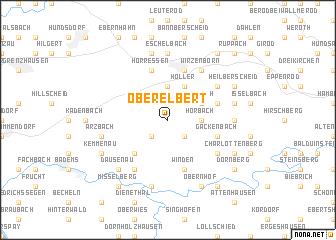 map of Oberelbert