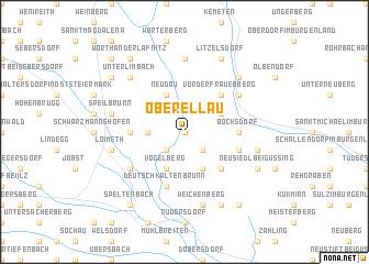 map of Oberellau