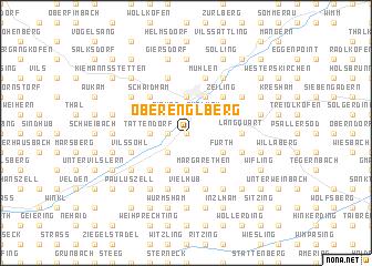 map of Oberenglberg