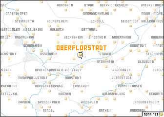 map of Oberflorstadt