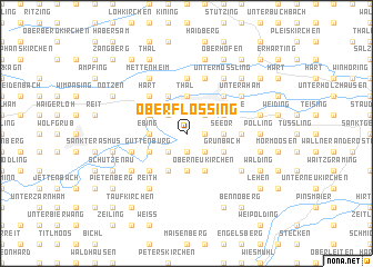 map of Oberflossing