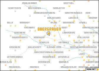 map of Obergraden