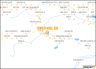 map of Oberhalde