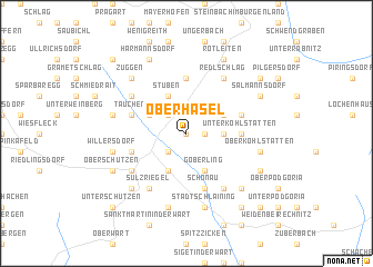 map of Oberhasel