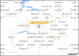 map of Oberhausen