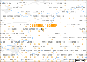 map of Oberhelmsdorf