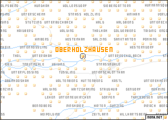 map of Oberholzhausen