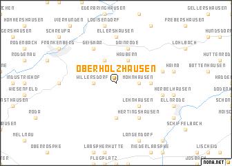 map of Oberholzhausen