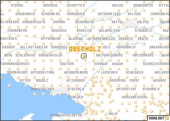 map of Oberholz