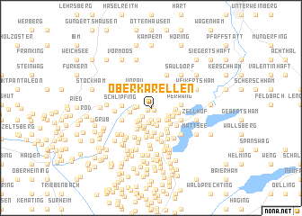 map of Oberkarellen