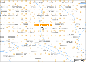 map of Oberkarla