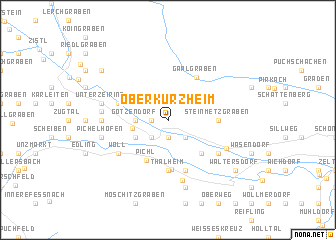 map of Oberkurzheim