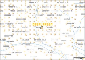 map of Oberlaasen