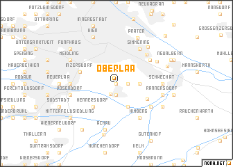 map of Oberlaa