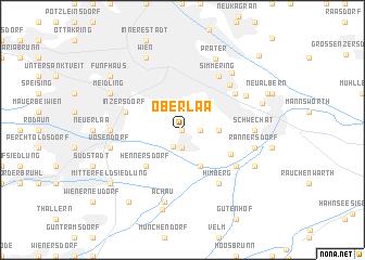 map of Oberlaa