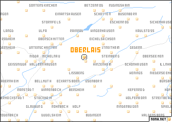 map of Ober Lais