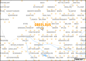 map of Oberlaus