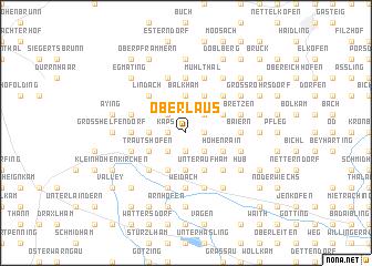 map of Oberlaus